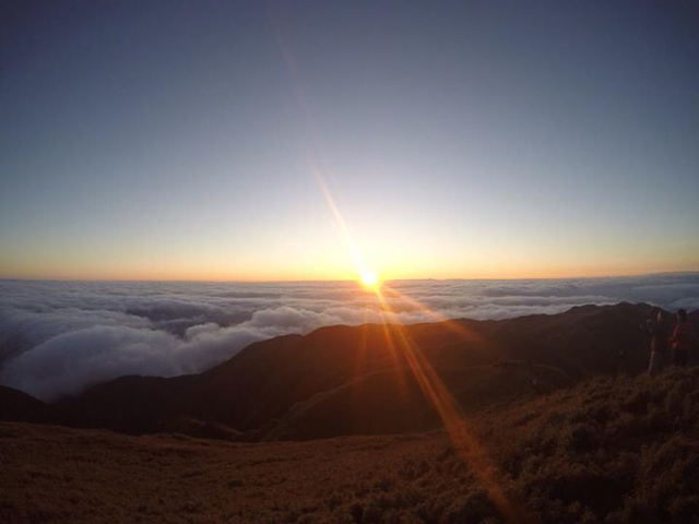 Sunset on top of Mount Pulag Philippines