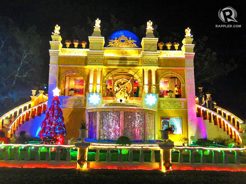 Christmas Lighted Houses