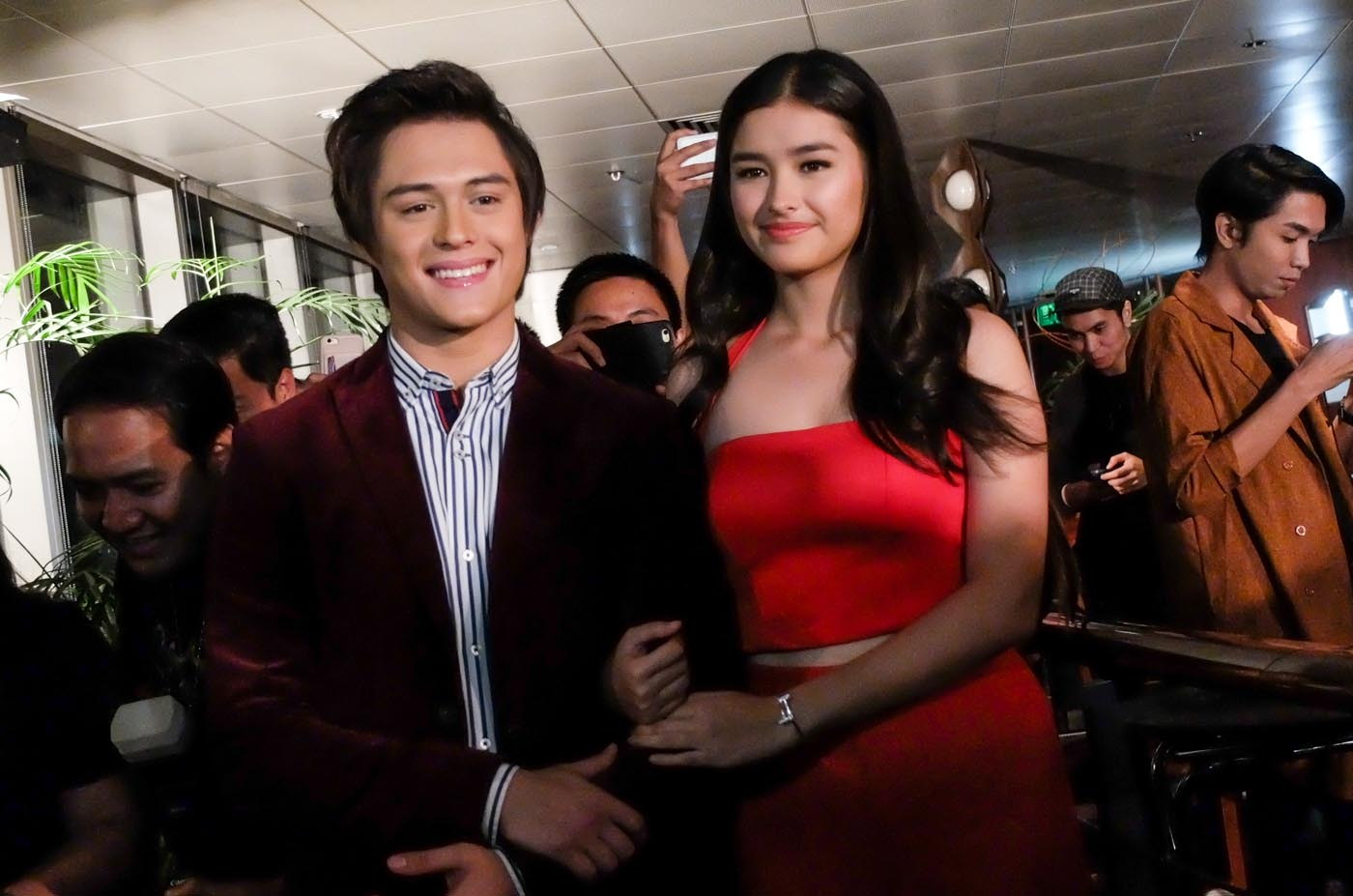 SERENA AND TENTEN. Liza and Enrique's characters are adopted in 'Dolce Amore.' Photo by Alecs Ongcal/Rappler