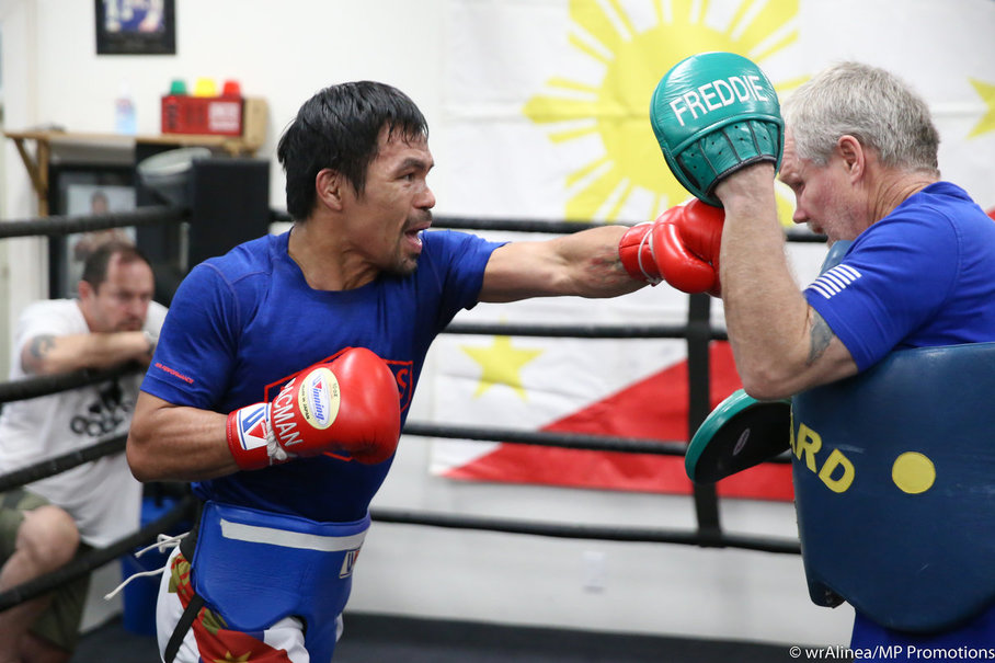 refreshed pacquiao impresses in sparring session