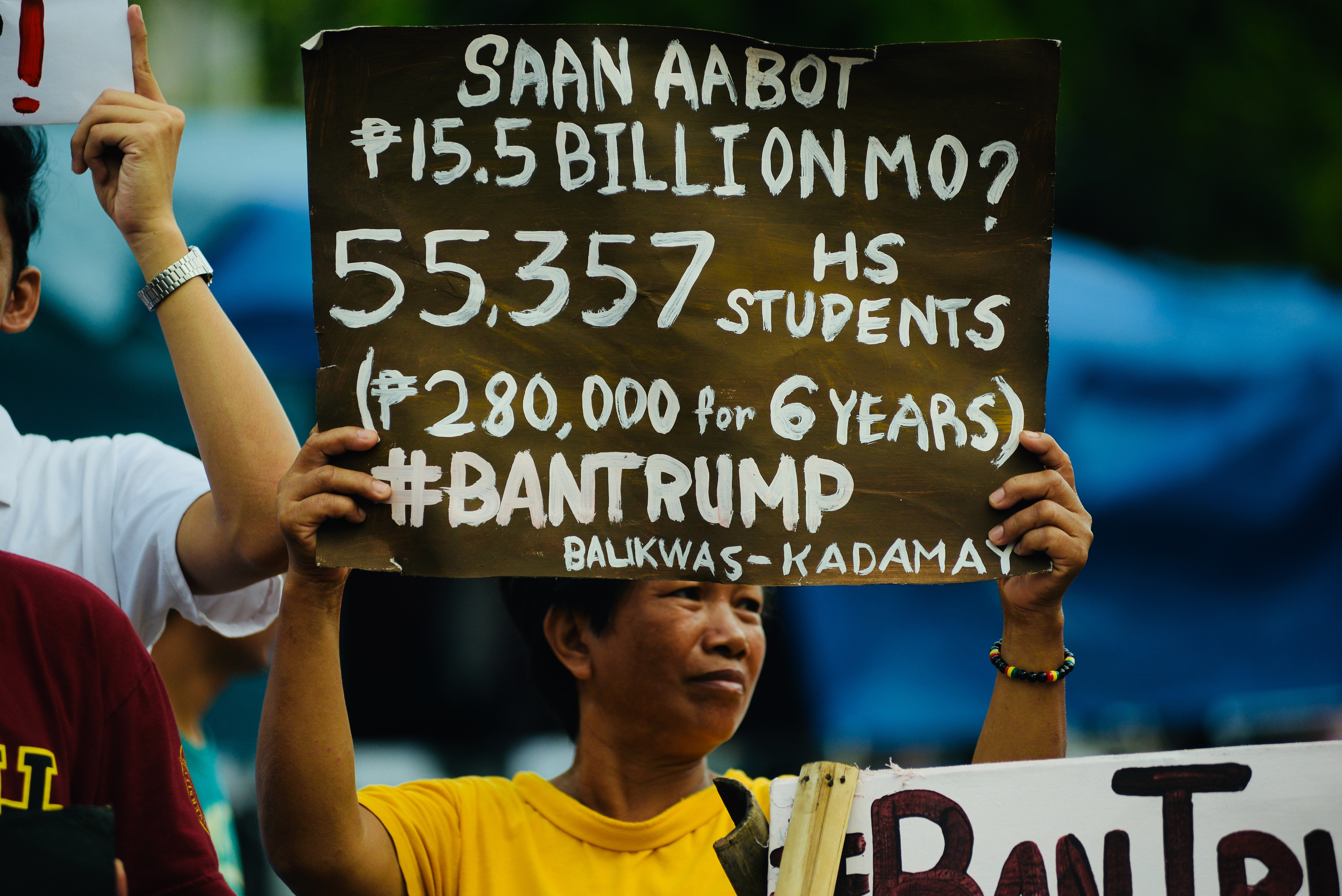 ASEAN BUDGET. Kadamay says the P15-B budget for the ASEAN summit could have benefitted thousands of poor Filipinos. Photo by Maria Tan/Rappler