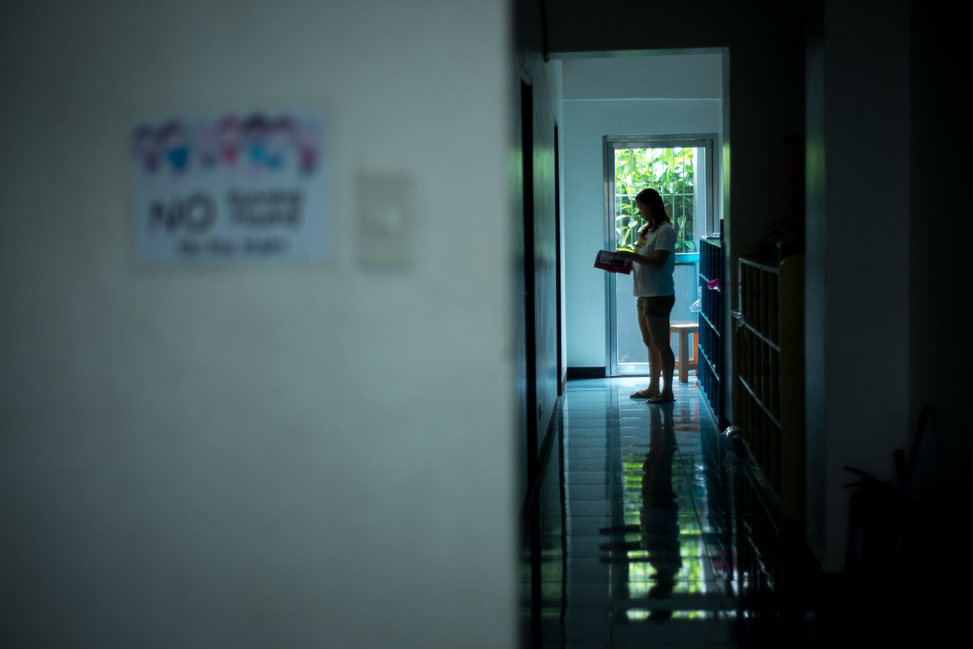 A HEALTH CONDITION. Depression is like a shadow that lurks and slowly creeps to one's system. All photos by Jansen Romero/Rappler
