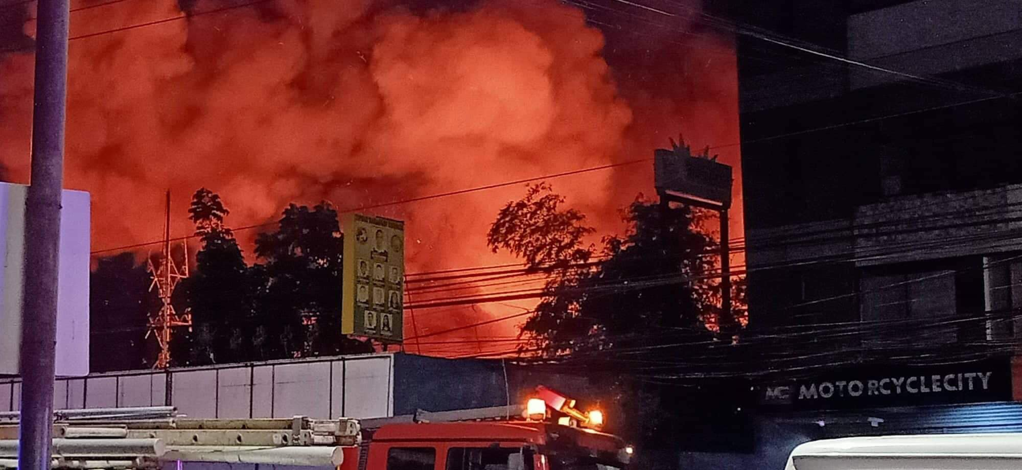 Mandaue City places 3 sitios under state of calamity due to fire