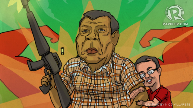 Image result for President Rodrigo Duterte CARTOON