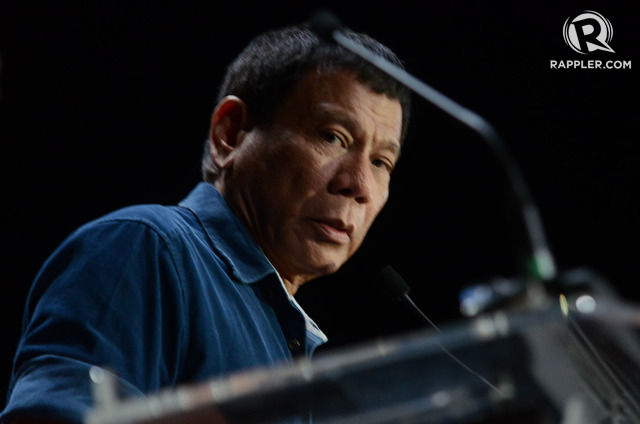 'VIGILANTE JUSTICE.' Human Rights Watch says some public officials like Davao City Mayor Rodrigo Duterte promote the perception that death squads would solve criminality. File photo by Alecs Ongcal/Rappler