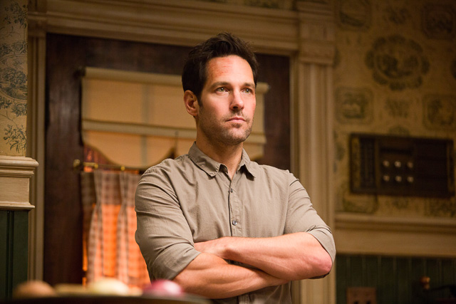 BITE-SIZE. Paul Rudd plays Scott Lang in 'Ant-Man.' Photo by Zade Rosenthal/Marvel
