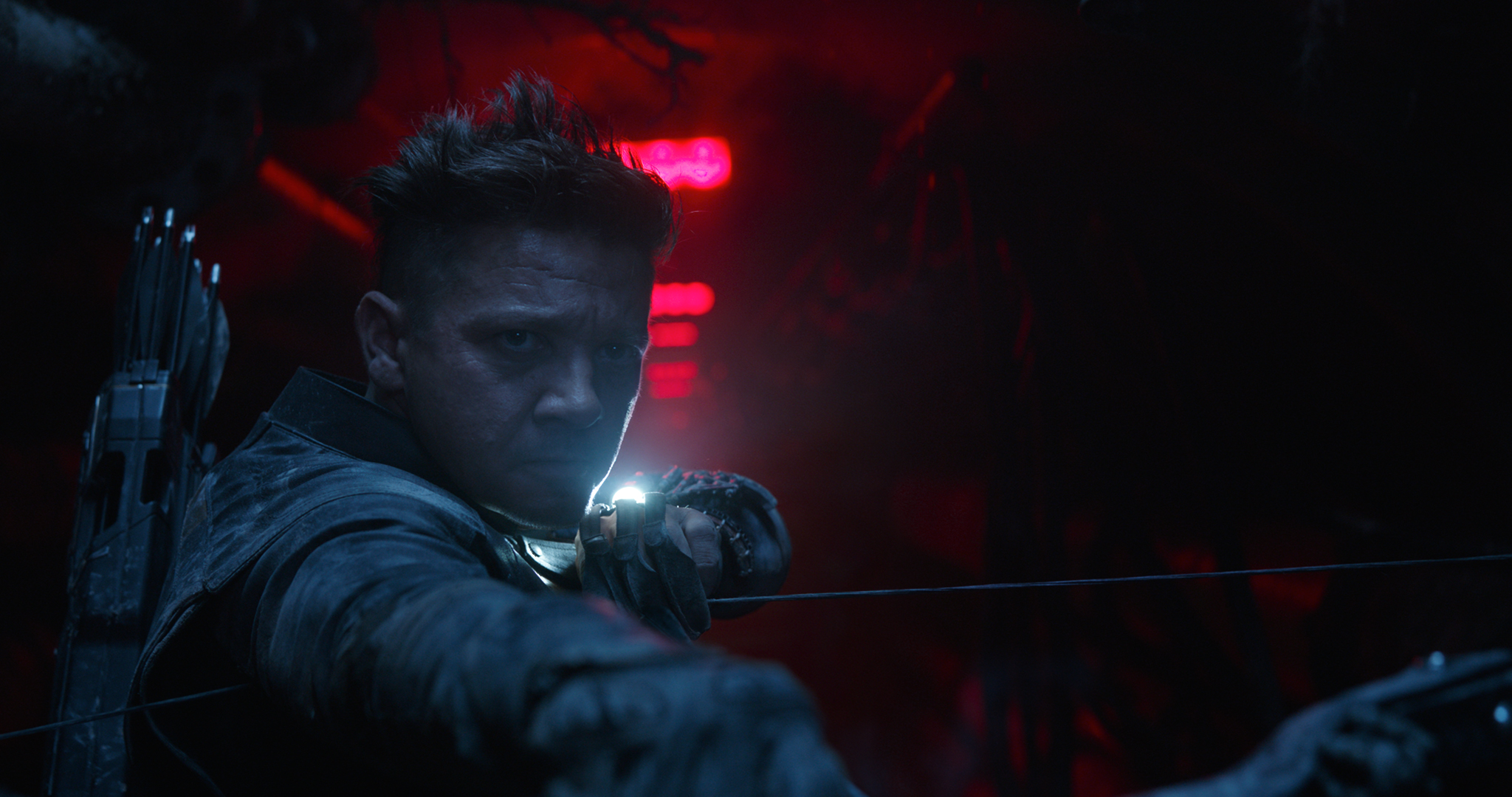 BACK. Hawkeye/Clint Barton (Jeremy Renner) makes a return after being absent in 'Infinity Wars.'