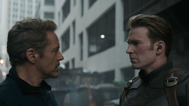 FINAL BATTLE. Iron Man and Captain America team up for their mission to stop Thanos in 'Avengers: Endgame.' All photos courtesy of Marvel Studios