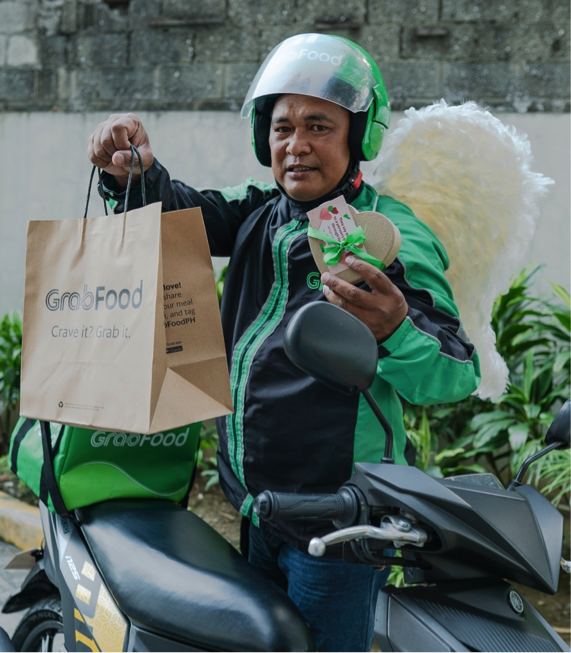 Free chocolates, serenades, promo codes, and more from Grab