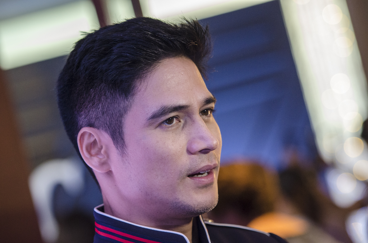 ENOUGH. Piolo Pascual challenges a troll online to a fistfight after calling him and son Inigo gay. File photo by Rob Reyes/Rappler