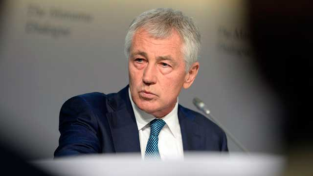 Hagel: PH-US  <b> battle games </b>  ' important to local security'