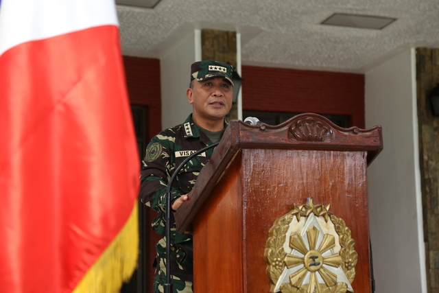 'ZERO SINCERITY?' AFP Chief of Staff General Ricardo Visaya. File photo by AFP Public Affairs Office