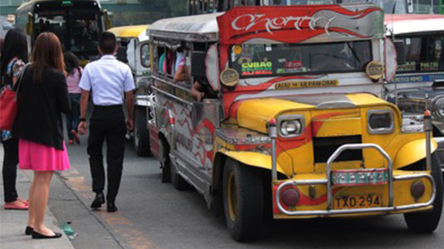 JEEPNEY MODERNIZATION. Several groups oppose the plan to phase out old jeepney models. File photo