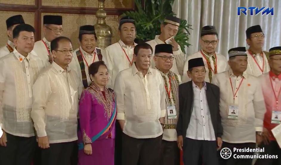 Duterte names Bangsamoro Transition Authority members