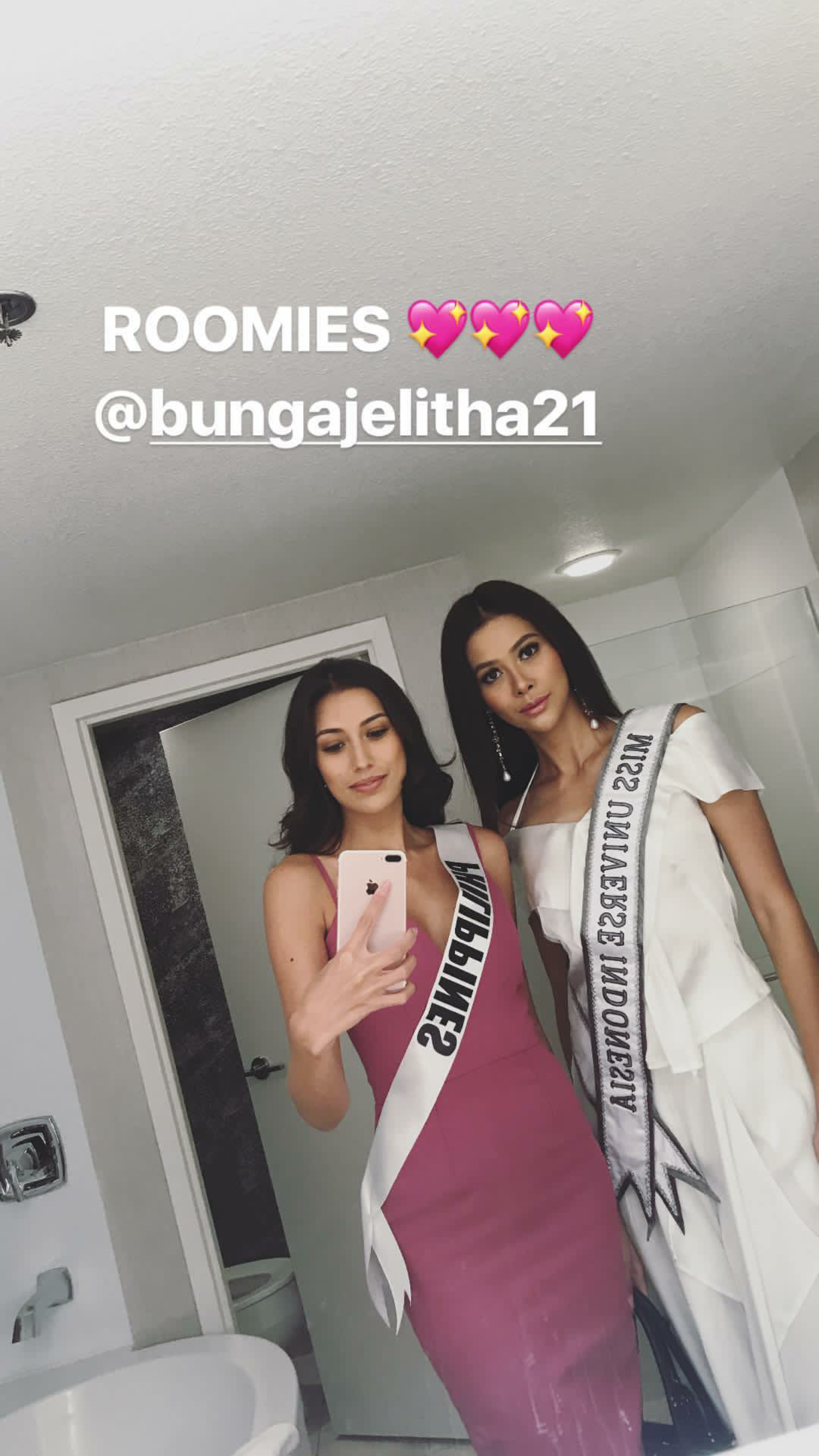 LOOK: Philippines, Indonesia are Miss Universe 2017 roomies