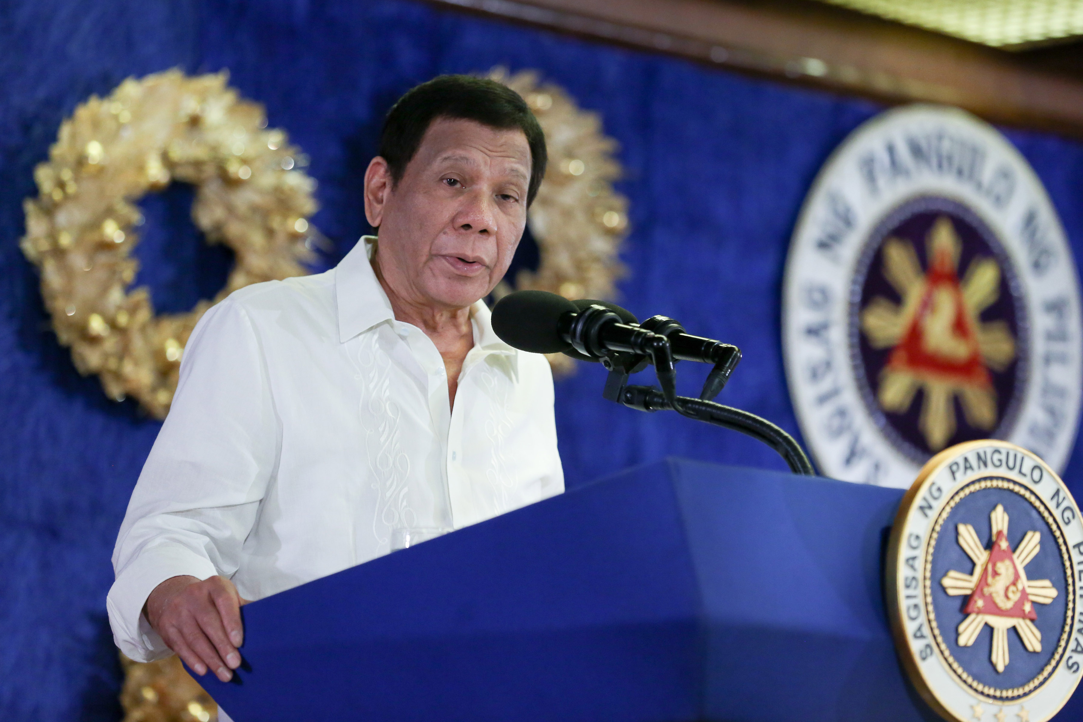 'Hang me': Duterte vows to never answer Int'l Criminal Court