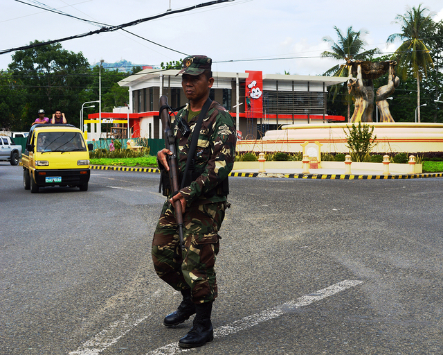 SECURITY ISSUE. Is Zamboanga del Norte secure enough? Photo by Gualberto Laput