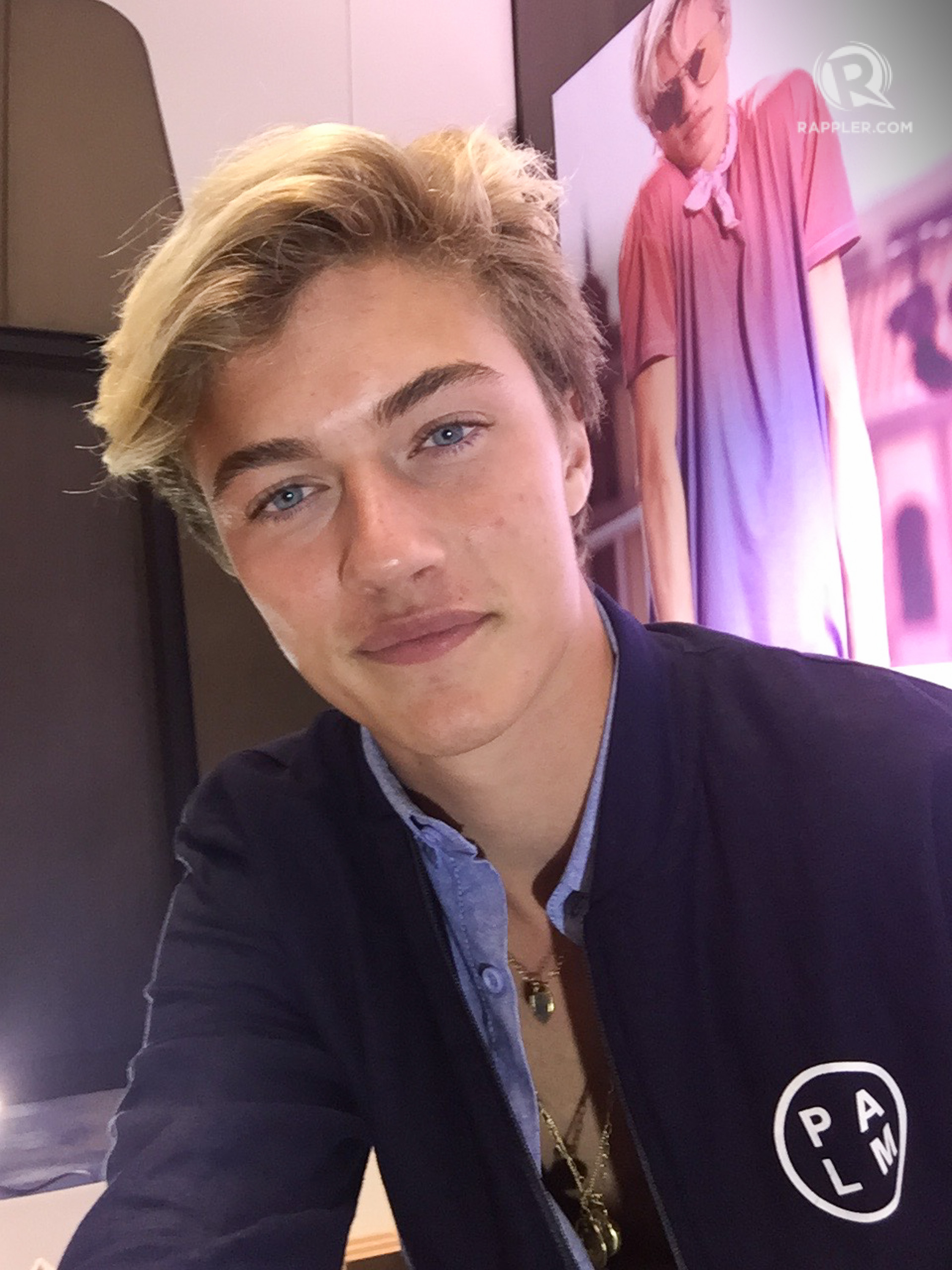 Supermodel Lucky Blue Smith S Top Tip For Taking The