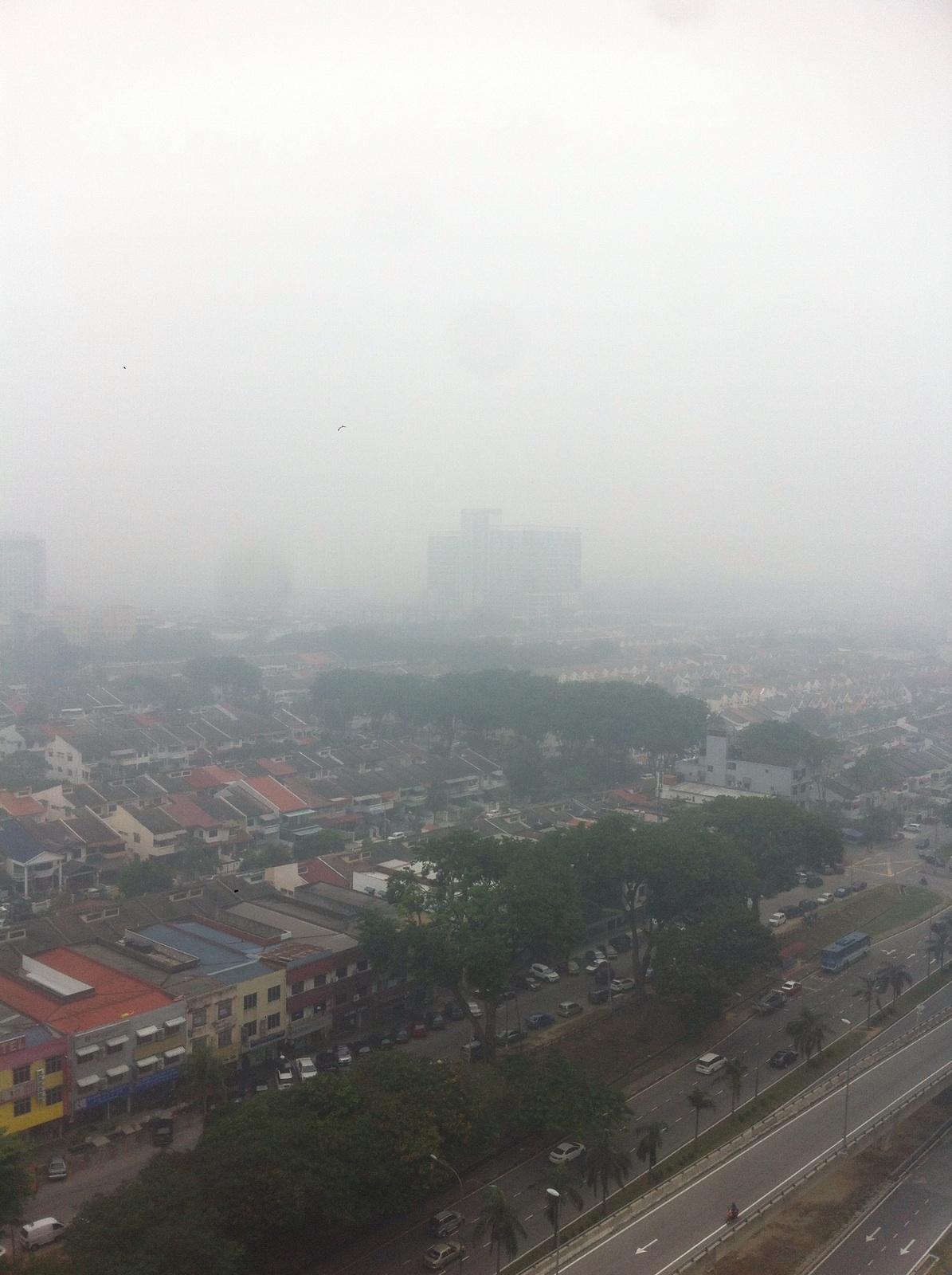 MALAYSIA. Asap di Selangor, Malaysia. Foto: Fajar Anugerah Putra