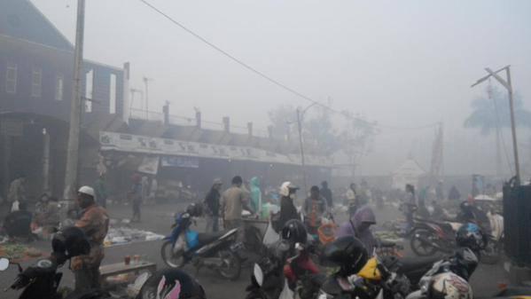 Kondisi di Banjarbaru, Kalimantan Selatan. Foto: Lukman.
