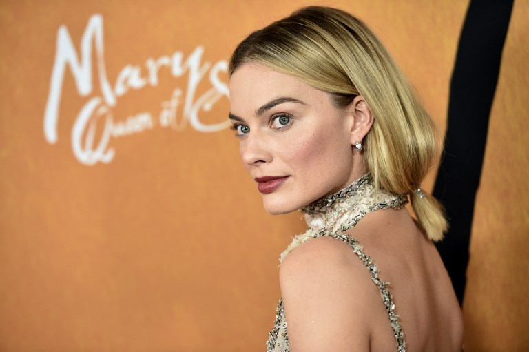 BARBIE. Australian actress Margot Robbie is set to play Barbie in the first live-action film, to be produced by her production company and Mattel Films. Photo by Steven Ferdman/ AFP
