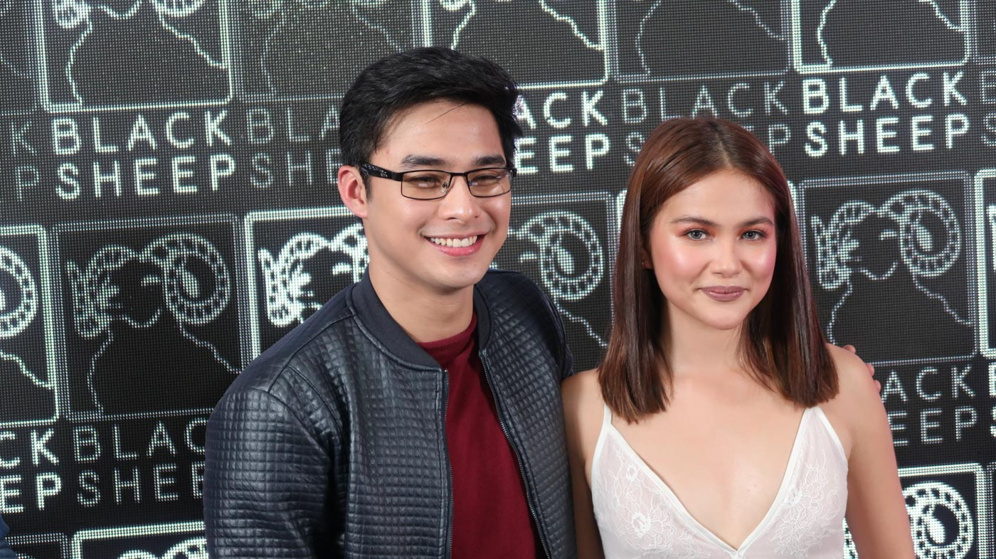 MCLISSE. McCoy de Leon and Elisse Joson admit they had to set aside thier personal issues with each other while doing the movie 'Sakaling Maging Tayo.' All photos by Precious del Valle/Rappler