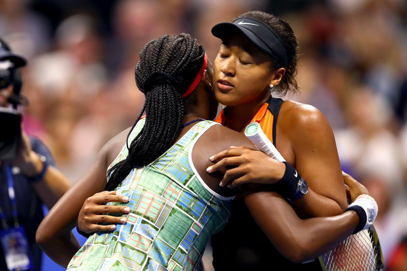 No  1 Osaka overpowers teen Gauff in U S  Open showdown