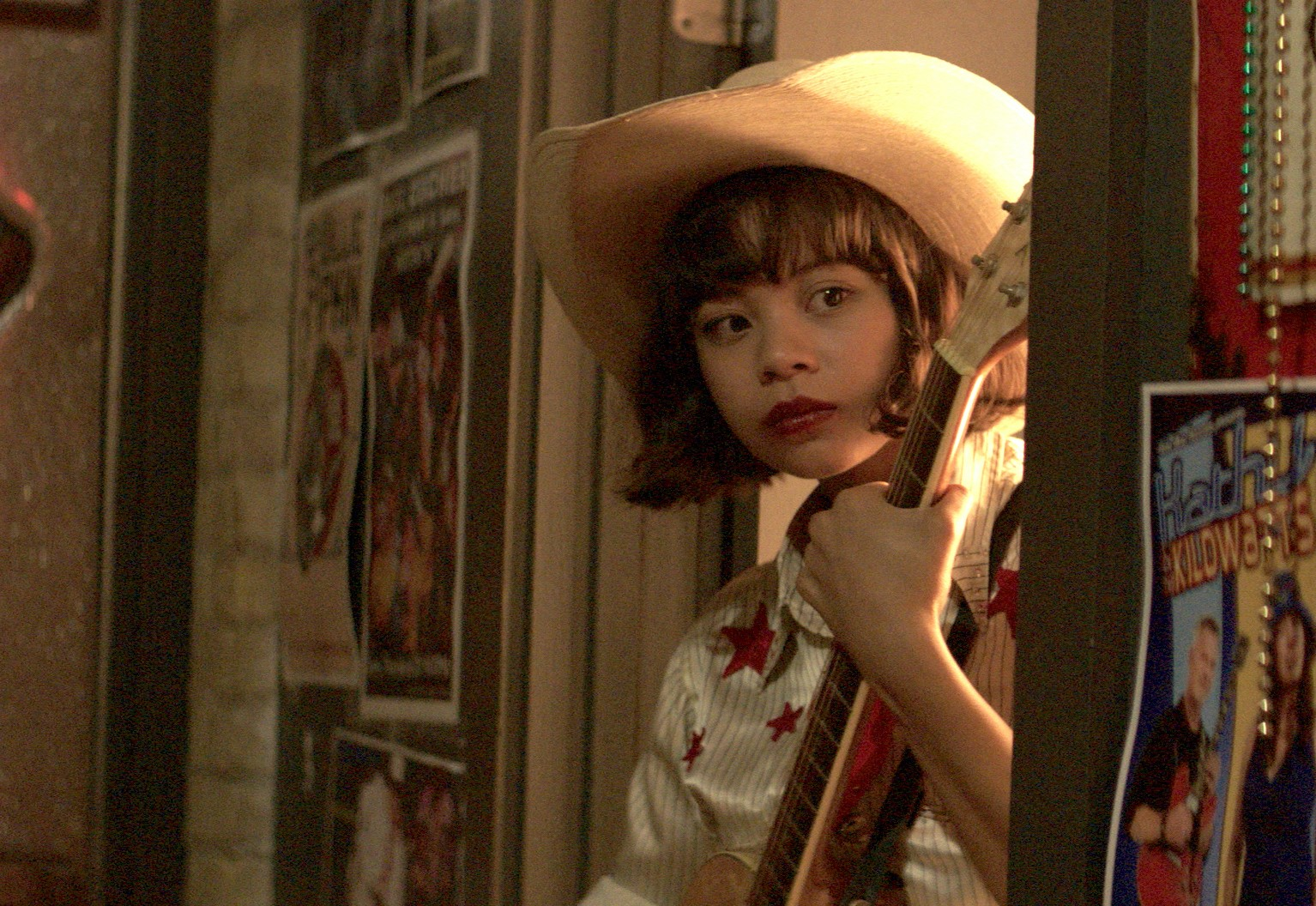 YELLOW ROSE. The movie stars Eva Noblezada as Rose, an aspiring country singer. Photo courtesy of ABS CBN PR