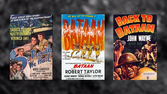 BATAAN IN FILMS. Hollywood has put Bataan in many of the movies setting during World War II. All photos from Wikipedia