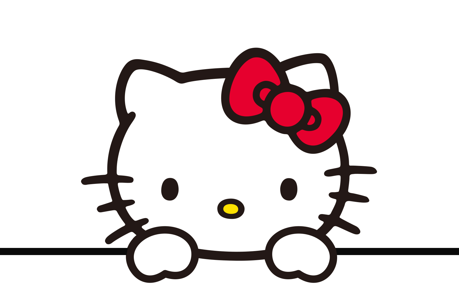 HELLO KITTY. The adorable feline character will soon star in a Hollywood film. Image courtesy of Warner Bros Pictures