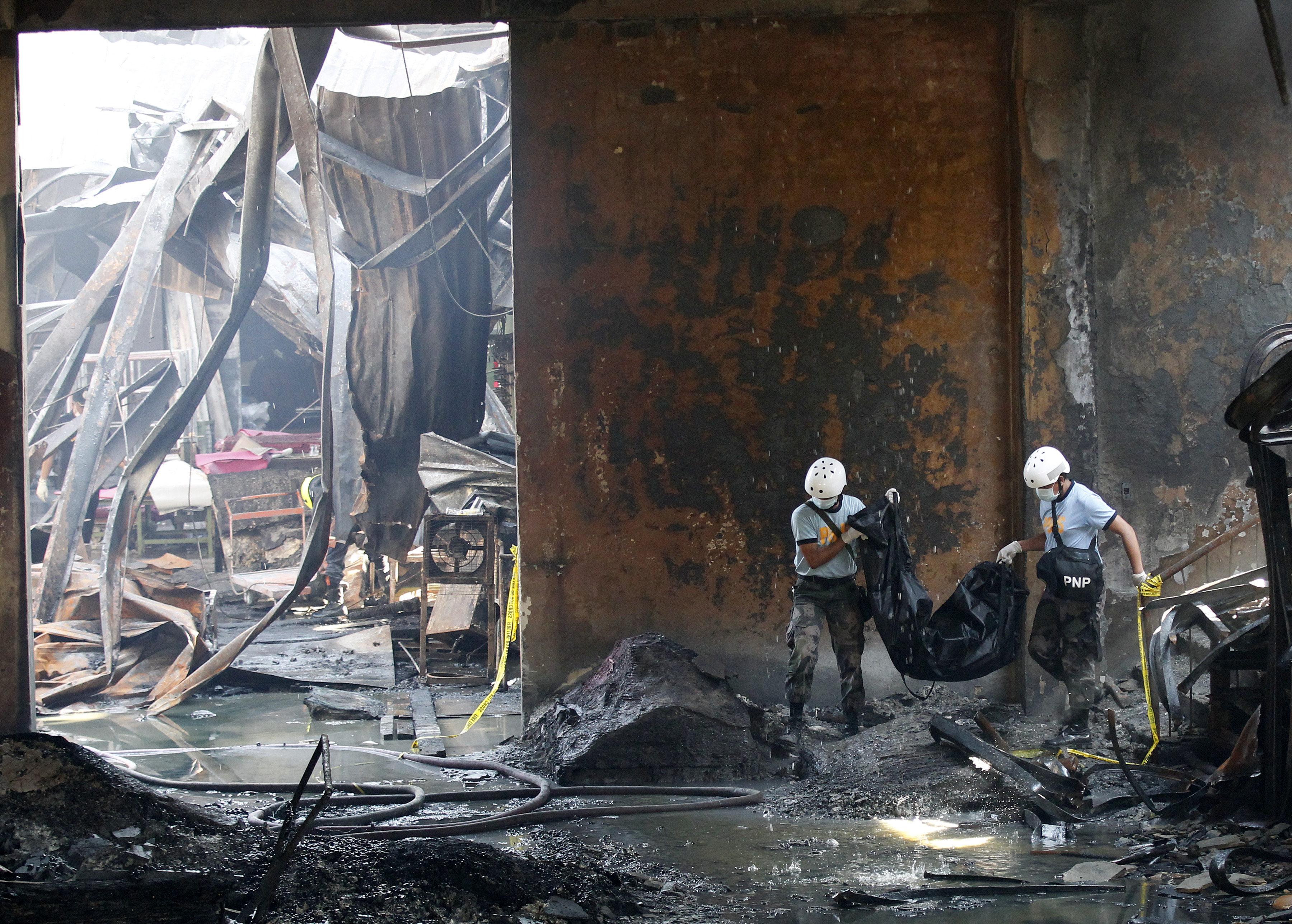 Philippines Valenzuela Fire Death Toll in Valenzuela Fire