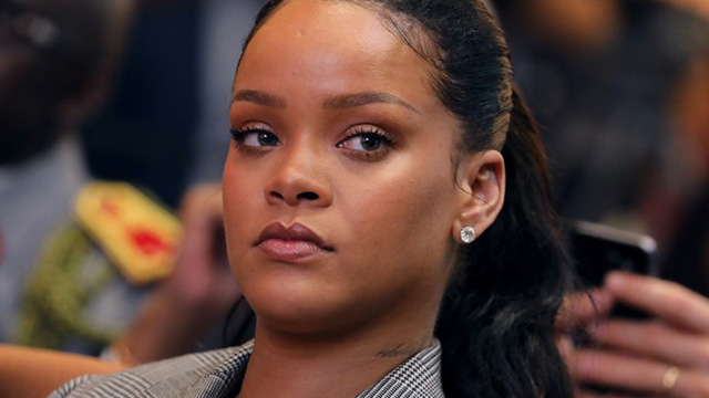 OH NA NA, WHAT'S HER NAME? While the name Fenty isn't solely hers, Rihanna isn't cool with her father using it to dupe investors. File photo by Ludovic Marin/AFP