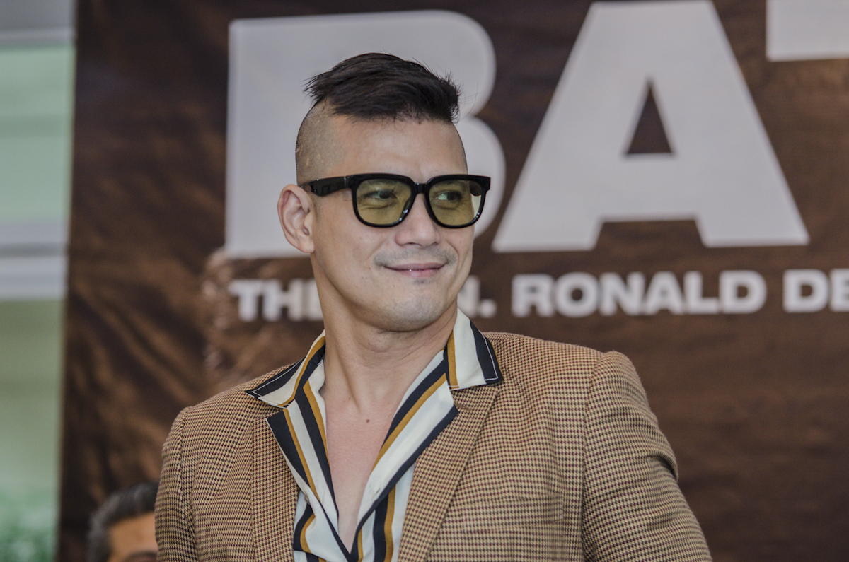 APPEAL. Robin Padilla asks the public to watch the movie 'Bato: The Gen Ronald dela Rosa' story before issuing statements that it's a propaganda. All photos by Rob Reyes/Rappler