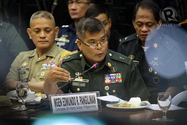 PROMOTED. Major General Edmundo Pangilinan