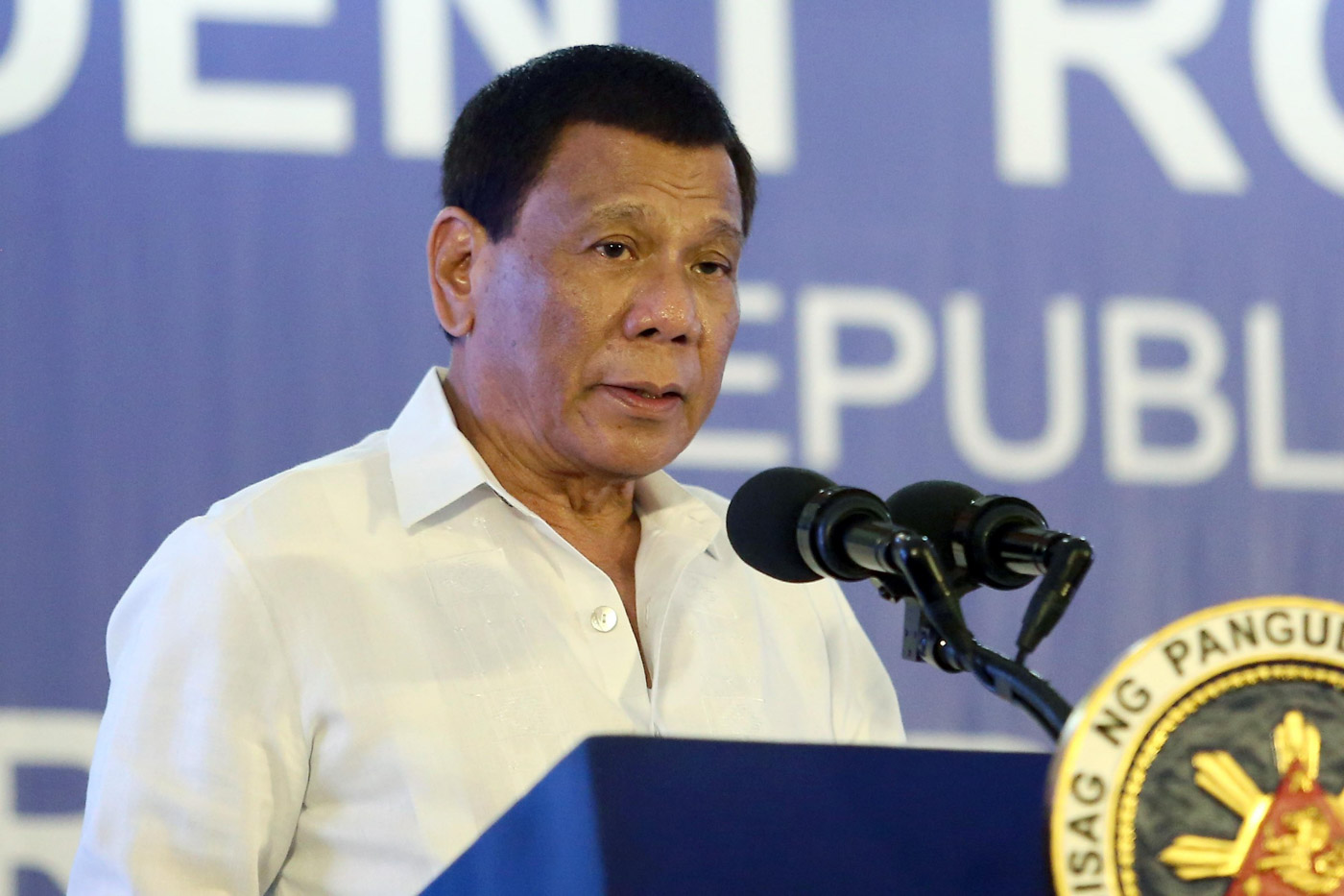 HOSPITAL VISIT. Sources say President Rodrigo Duterte dropped by the hospital on July 22, 2018, a day before his 3rd State of the Nation Address. Malacañang file photo