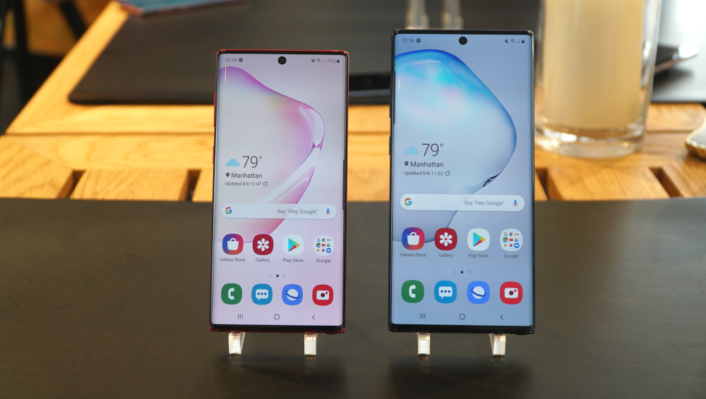 Samsung reveals Galaxy Note 10, Note 10 Plus