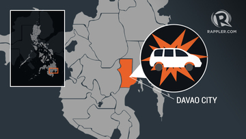 DAVAO CITY BLAST. The local government orders tighter security after a van explosion left two men injured.