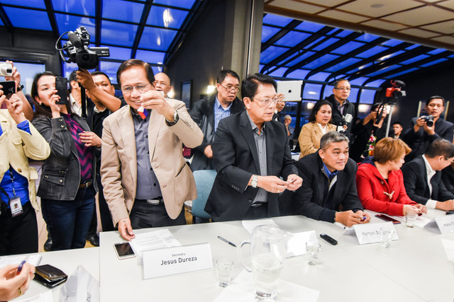 CONTENTIOUS. Round 2 of the peace talks between the Philippine government and the National Democratic Front gets underway in Norway on October 6, 2016. Photo courtesy of OPAPP