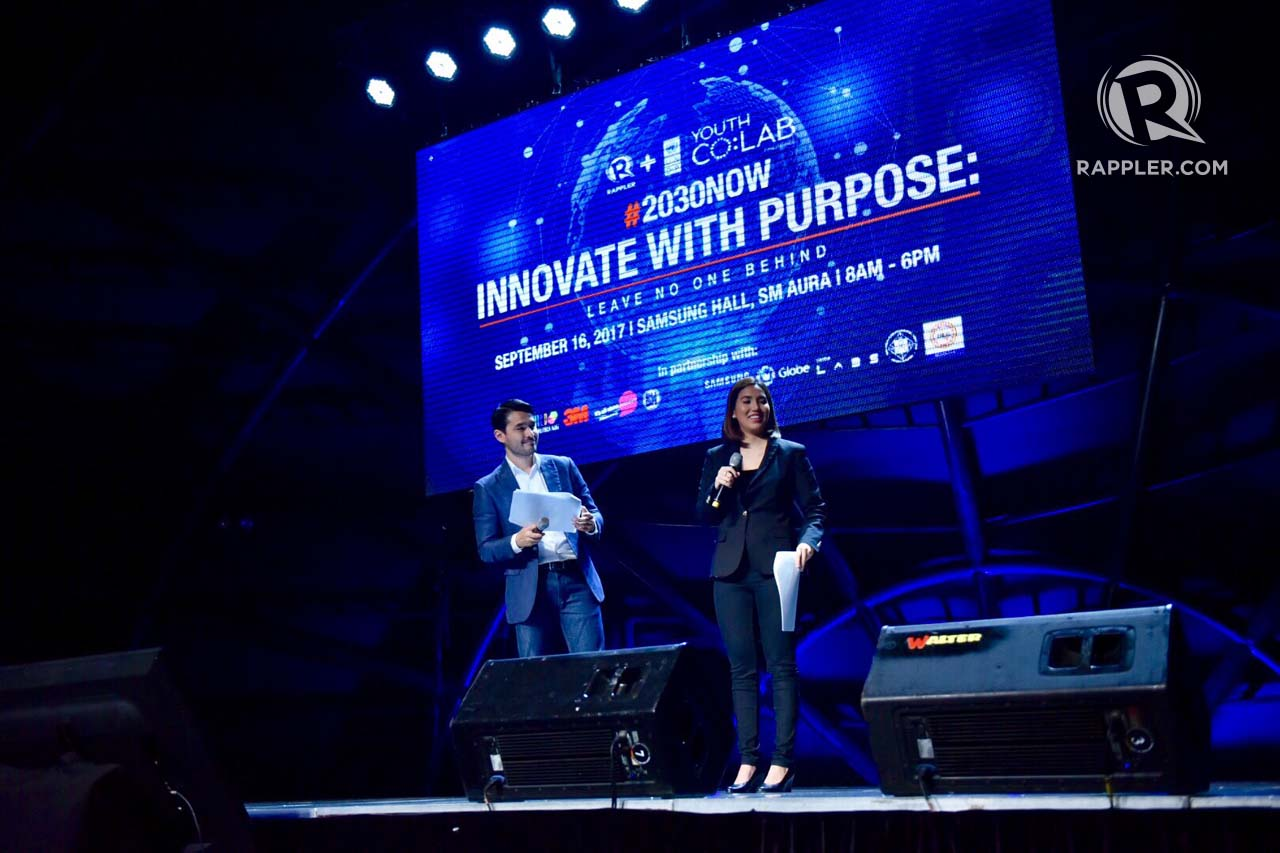 SGS 2017. This year's Social Good Summit bears the theme 'Innovate with Purpose: Leave No One Behind.' All photos by LeAnne Jazul/Rappler