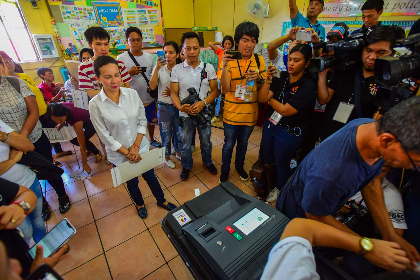 IN PHOTOS: The Filipino votes