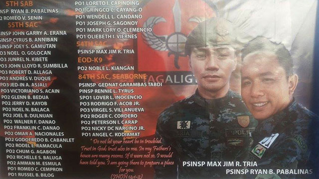 maguindanao-clash-54th-SAF-battalion-9-nights-of-prayers-basilan-20150127-01 - PNP: 43 cops killed in Maguindanao clash - Philippine Daily News