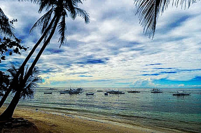 SPECIAL PLACE. Serene beaches of Bohol