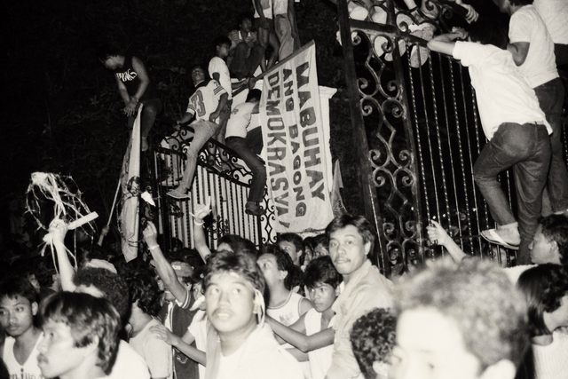 """essay about edsa people power The people power revolution, known all over the world for its peaceful and   indeed, it was in the wake of the edsa revolution that the lifting of censorship   in his essay entitled """"a report on philippine writing since 1986,""""."""