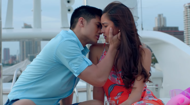 HAPPINESS? Carl (JC de Vera) tries to make Zyra happy, despite the many times he broke her heart.
