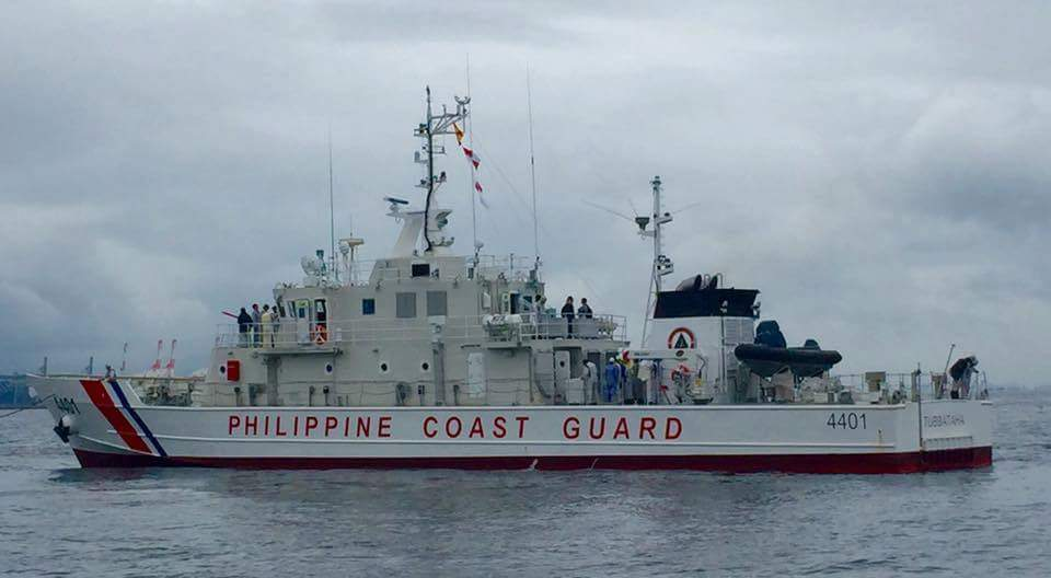 TO THE PHILIPPINES. BRP Tubbataha is one of 10 vessels that Japan is building for the Philippines' search and rescue and maritime security and law enforcement operations. Photo courtesy of the Philippine Coast Guard