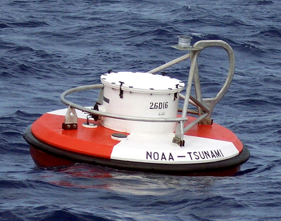 TSUNAMI BUOYS. Phivolcs' Ishmael Narag says US-controlled tsunami buoys are placed all over the Pacific Ocean. Rappler file photo