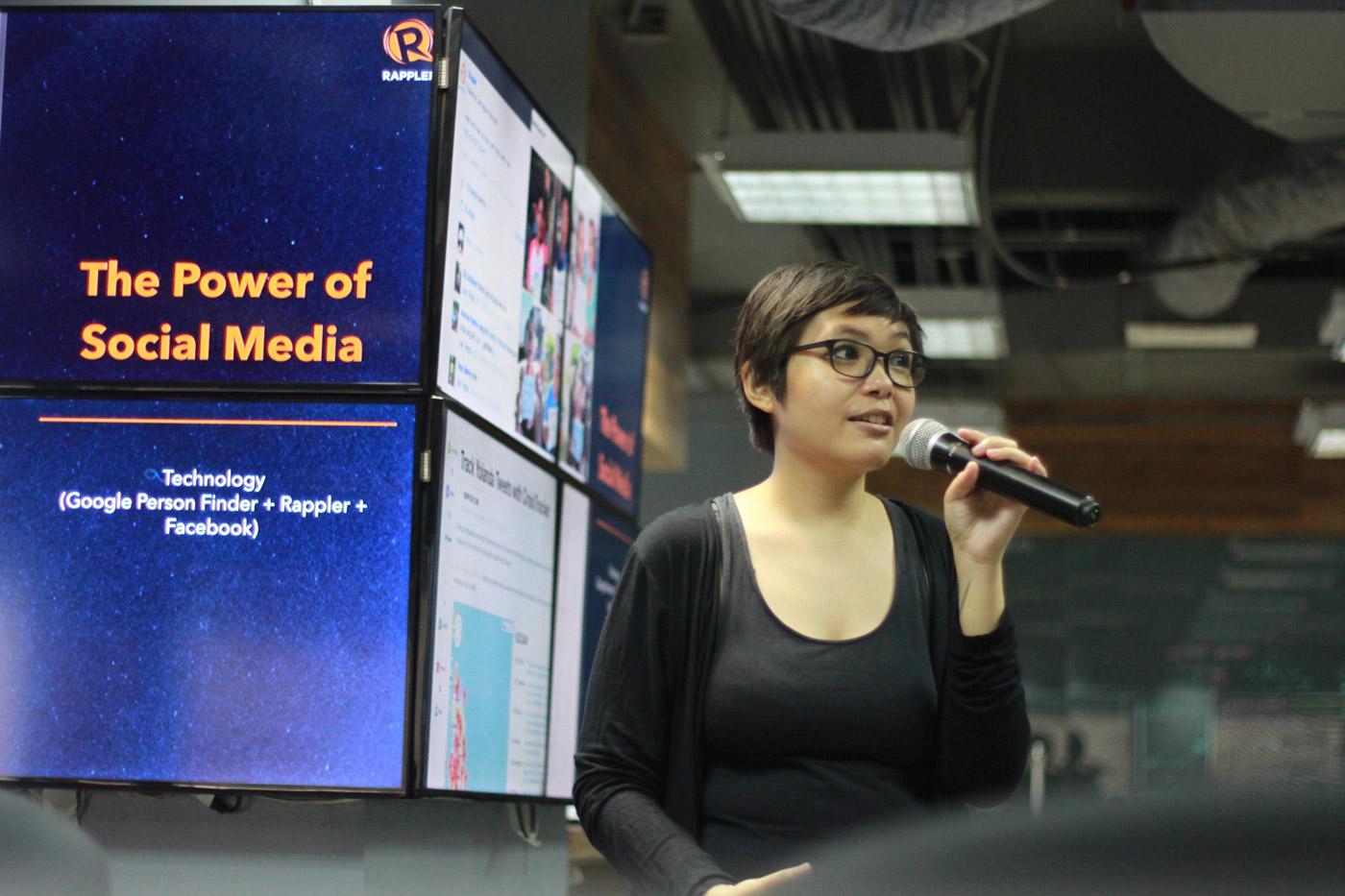 POWERFUL PLATFORMS. Social media producer Margie de Leon talks about responsible use of social media.