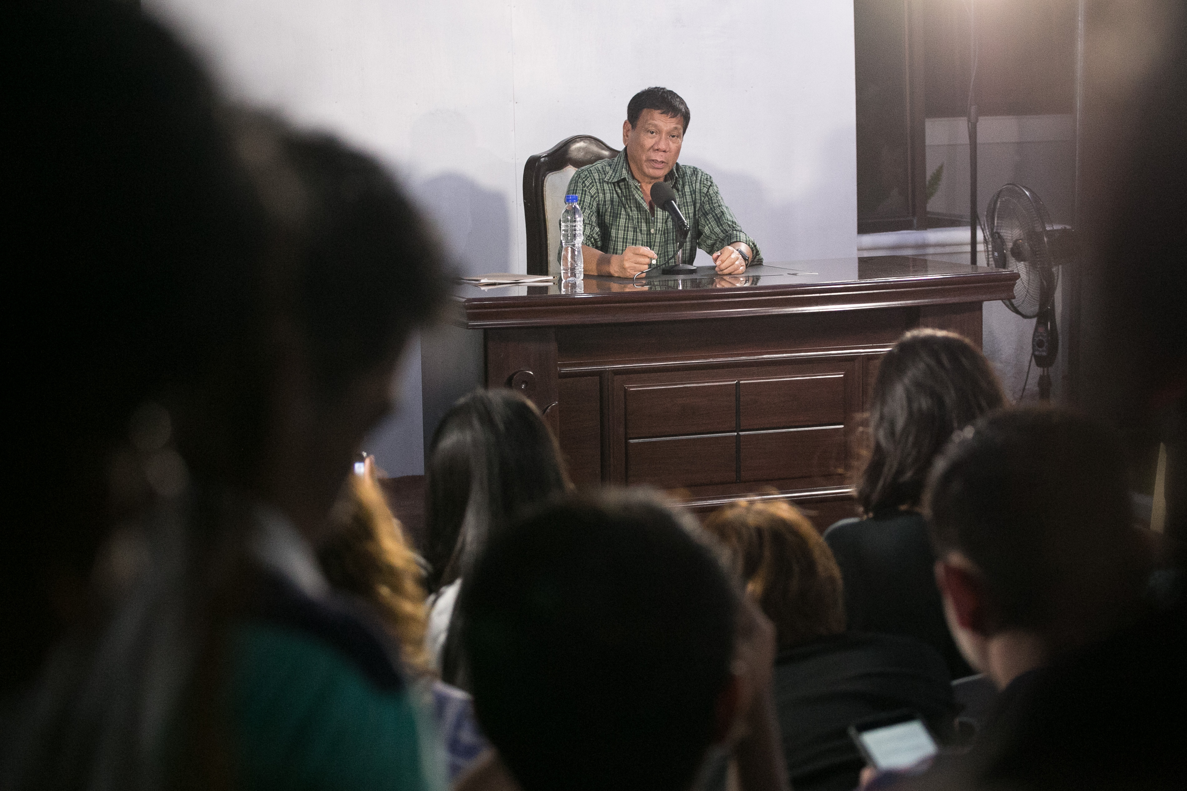Catcalling: Duterte broke the law in own city