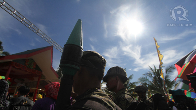 STILL ARMED. MILF troops in Maguindanao. File photo
