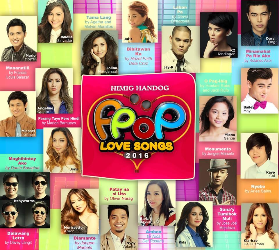 LISTEN: The top 15 of Himig Handog P-Pop Love Songs 2016